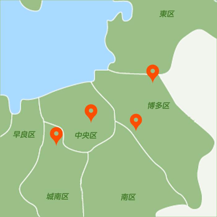 各院のマップ